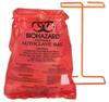 """BX100 Biohazard Benchtop 8-1/2"""" X 11"""" Bags -- 84194"""