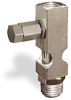 "(Formerly B1631-9X-TP), Straight Small Sight Feed Valve, 1/4"" Female NPT Inlet, 1/4"" Male NPT Outlet, Tamperproof -- B1628-434B1TW -- View Larger Image"
