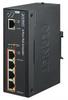 1-Port Ultra PoE to 4-Port 802.3af/at Gigabit PoE Extender