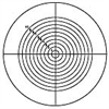 21mm Dia. Contact Reticle, Metric Concentric Square -- NT64-850 - Image