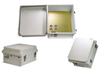 14x12x7 Inch 120 VAC Weatherproof Enclosure w/Terminal Block Installed -- NB141207-100T -- View Larger Image