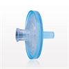 Hydrophilic Filter with Female Luer Lock Inlet, Male Luer Slip Outlet, Blue and Clear -- 28217 -- View Larger Image