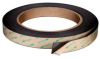 3M™ Flexible Magnet Tape 605010TR Black, 1/2 in x 10 ft 0.06 in, 72 rolls per case -- 70006743838