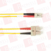 BLACK BOX CORP FOCMPSM-003M-SCLC-YL ( 3M (9.8FT) SCLC YL OS2 SM FIBER PATCH CABLE INDR ZIP OFNP ) - Image
