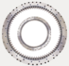 Three-row cylindrical rollers slewing ring bearings – 13 Series -- 131.32.900