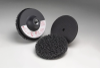 3M Scotch-Brite 914CS Non-Woven Sanding Disc Set - Very Coarse Grade(s) Included - 4 in Diameter Included - 18428 -- 048011-18428 - Image