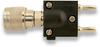 """N"" Male to Double Banana Plug, Adapter -- 9415 - Image"