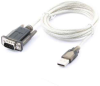 6ft USB 2.0 to Serial 9-pin DB9 RS-232 Adapter Cable with Thumbscrews (ftDI Chipset) -- UB30-65-S - Image