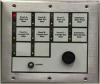 10-Zone Annunciator with One Sonalert -- SER-D498A