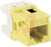 MDVO STYLE MODULES GIGAFLEX CAT. 6, YELLOW -- 70038144