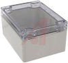 Enclosure; Polycarbonate; Silicone Rubber; Stainless Steel; Light Gray; Clear -- 70163904