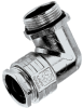 Die-Cast Zinc 90° Elbow Strain Relief Cable Glands with PG Thread -- SKINDICHT® RWV