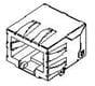 Modular Connectors / Ethernet Connectors -- 44282-0001 -Image