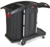 Rubbermaid 9T76 Compact Folding Housekeeping Cart -- RM-9T76