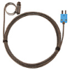 Digi-Sense Type-T Hose Clamp Probe 0.44 -1.00 OD Mini Conn GRD 10Ft SS Braid Cable -- GO-08469-24