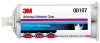 3M 08107 Clear Two-Part Epoxy Adhesive - Clear - Base & Accelerator (B/A) - 50 ml Syringe 08107 -- 051135-08107 - Image
