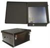 18x16x8 Inch 120VAC Black Weatherproof Enclosure with Intergral Heating System -- NBB181608-1H0