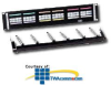 "Hubbell Category 5e 19"" Patch Panel with Cable.. -- P5EXXX19"