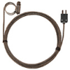 Digi-Sense Type-J Hose Clamp Probe 0.44 -1.00 OD Mini Conn GRD 10Ft SS Braid Cable -- GO-08469-20