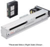 Linear Actuator (Slide) - Reversed Motor (Right Side), X-axis Table with Built-in Controller (Stored Data) -- EAS6RX-D040-ARACD-3 -Image