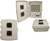 14x10x4 Inch 120 VAC INDOOR Vented Weatherproof Enclosure -- NBP141004-10V -Image