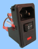 3 Function Single Fuse Power Entry Module; Wired -- 83543501 -Image