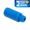 1/4in. male NPT Plastic Pneumatic Silencer (air exhaust muffler) 2/pk. -- SPL-14N -- View Larger Image