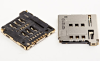 Micro SIM Card PCB Mount Socket -- 80440GIH-061T-121L -Image