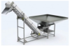 Vibratory Hopper/Incline Conveyor -- UF-3040 -- View Larger Image