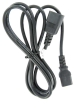 1.5ft 16 AWG Computer Power Extension Cord (IEC320 C13 to IEC320 C14) -- P7ME-16A-015 - Image