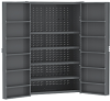 Heavy-Duty Cabinet w/ Louvered Back Wall & Doors -- HD4824F