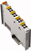 4-channel analog input module; for resistance sensors; Extended temperature range: -30 °C ... +150 °C -- 750-463