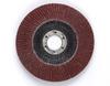 3M Cubitron II 967A Type 27 Coated Ceramic Aluminum Oxide Flap Disc - 40 Grit - 4 1/2 in Diameter - 55602 -- 051141-55602 - Image