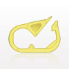 Pinch Clamp, Yellow -- 13620 -Image