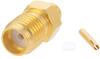SMA Female (Jack) Connector for FM-SR086ALTN, FM-SR086TB, FM-SR086TBJ, FM-SR086CUTN, FM-SR086CU Cable, Solder -- FMCN1418 -Image