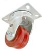 Swivel Caster - V Groove Ductile Steel Wheel - Model 15 -- 15VS4x2-S