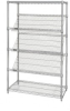 Wire Shelving - Carts - Healthcare & Medical - WRCSL5-63-2436