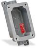 Haz-Loc Splice/Device Box: single gang, (2) 1/2 inch hubs -- FXB-4 -- View Larger Image