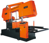 Canted Frame NC Automatic Straight Cutting Band Saw -- C-760FNC