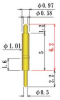 Single Ended Probe Pin -- 8Y127-H62S12SD -Image