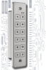 Baran Everswitch 39201116 - 2x6 Keypad Access Control