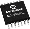 Enhanced Feature Battery-Backed SPI Real-Time Clock/Calendar -- MCP795W12 - Image
