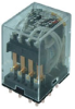 SZR-MY General Purpose Relay: Standard Relay; PCB Terminal; 4PDT; 24 Vdc -- SZR-MY4-1P-DC24V