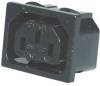 MULTICOMP - 2138 - CONNECTOR, POWER ENTRY, RECEPTACLE, 15A -- 965218 - Image