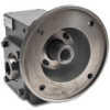 WORM GEARBOX, 2.62IN, 15:1 RATIO, 56C-FACE INPUT, HOLLOW SHAFT OUT -- WG-262-015-H