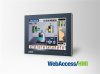 "12"" TFT LCD Windows-based Thin Client Terminal with WebAccess/HMI Runtime -- WA-HT1251T -- View Larger Image"