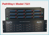 12-Channel RJ45 CAT6 A/B/C/D Switch, Telnet, GUI & Cascade -- Model 7321 -Image