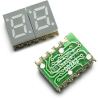 0.28(7mm) Dual digit surface mount LED display