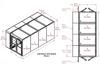 4-Unit Tunnel Low Profile Double Door Air Shower -- CAP701LP-ST4-97252