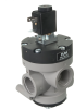 3/2-way Solenoid Vacuum Valve, Internally Vacuum Pilot Operated -- 36.615 to 36.626